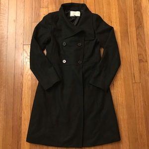 Long Black Peacoat